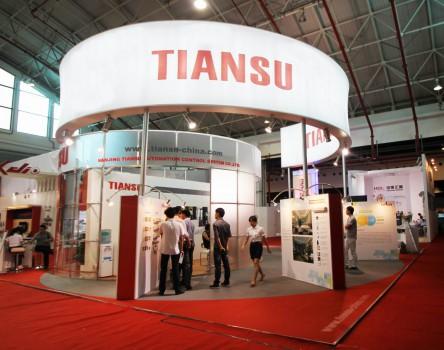 TIANSU展台设计