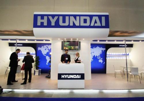 HYUNDAI展台设计