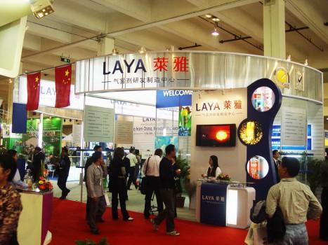 莱雅展台设计