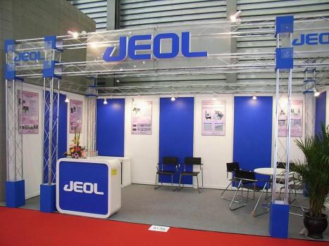 JEOL展台设计