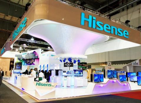 HISENSE展台设计