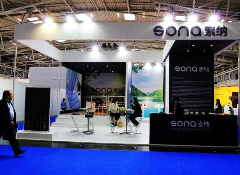 索纳展台设计