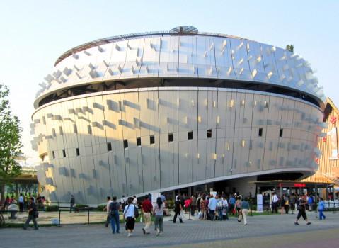 新加坡馆展台设计