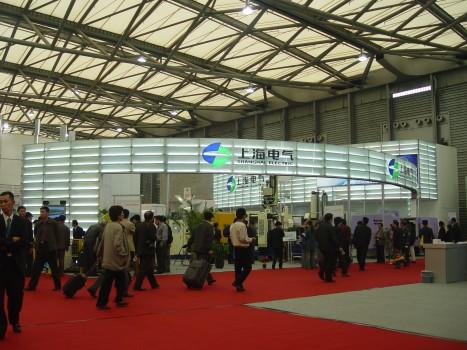 上海电气展台设计
