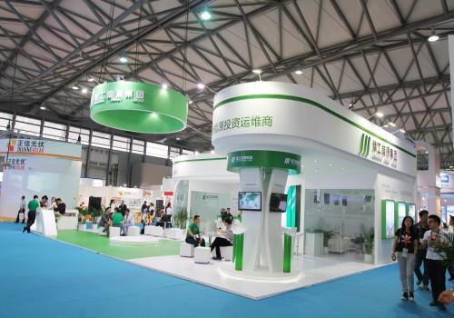 绿筑光能展台设计