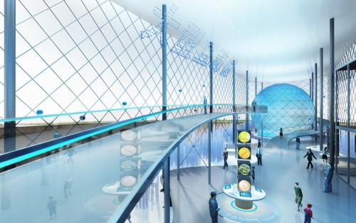 天水工业博物馆展台设计