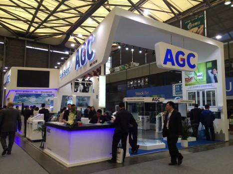 AGC旭硝子展台设计