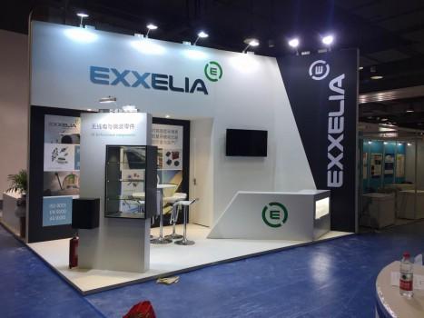 Exxelia展台设计