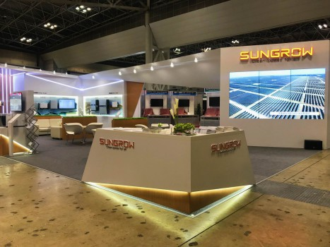 Solar power supply展台设计