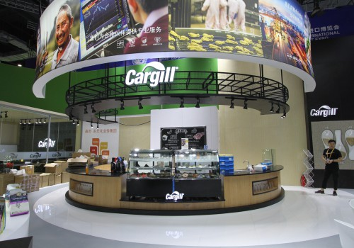 Cargill展台设计