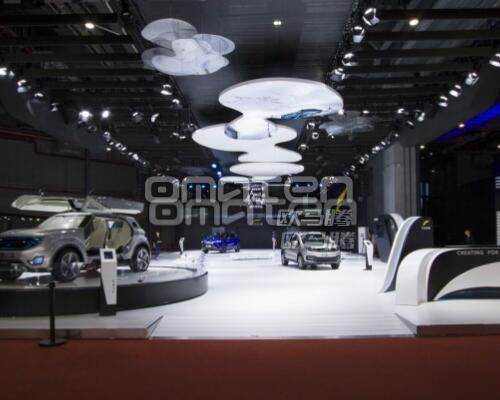 上海展台设计搭建如何达到多样化造型