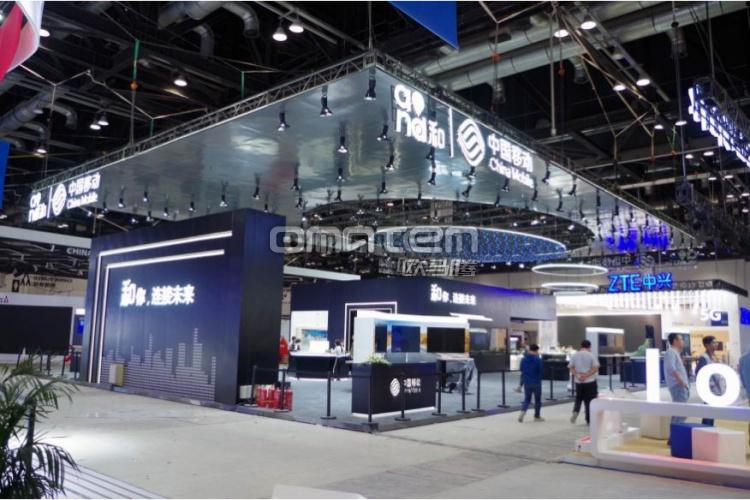 南京会展策划欧马腾会展-中国移动公司展台案例